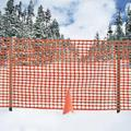 Rental store for SNOW FENCING 50FT ROLL C W 2 POST in Quesnel BC