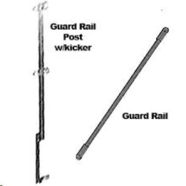 Where to find GUARD RAIL POST in Quesnel